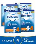 BEBILON 4 JUNIOR Z PRONUTRA+ Mleko modyfikowane w proszku - 4x1200g