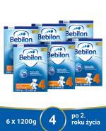 BEBILON 4 JUNIOR Z PRONUTRA+ Mleko modyfikowane w proszku - 6x1200 g