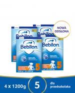 BEBILON 5 JUNIOR Z PRONUTRA+ Mleko modyfikowane w proszku - 4x1200g - Apteka internetowa Melissa