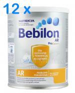 BEBILON AR PROEXPERT Mleko modyfikowane początkowe przeciw ulewaniom - 12 x 400 g - Apteka internetowa Melissa