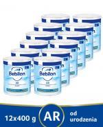 BEBILON AR PROEXPERT Mleko modyfikowane początkowe przeciw ulewaniom - 12x400 g - Apteka internetowa Melissa