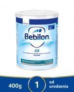 BEBILON AR PROEXPERT Mleko modyfikowane początkowe przeciw ulewaniom  - 400 g - Apteka internetowa Melissa