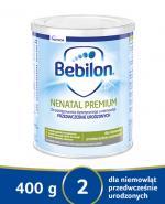 BEBILON NENATAL PREMIUM Z PRONUTRA Mleko modyfikowane w proszku - 400 g. Dla wcześniaków z niską urodzeniową masą ciała.
