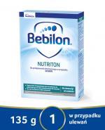 BEBILON NUTRITON Preparat zagęszczający - 135 g. Dla dzieci z tendencją do ulewania i dorosłych z trudnością z połykaniem. - Apteka internetowa Melissa