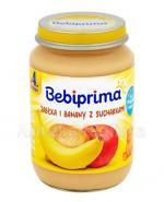 BEBIPRIMA Jabłka z bananami i sucharkami po 4 m-cu - 190 g Data ważności: 2018.12.31 - Apteka internetowa Melissa