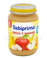 BEBIPRIMA Jabłka z bananami po 4 m-cu - 190 g - Apteka internetowa Melissa