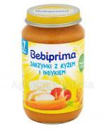 BEBIPRIMA Jarzynki z ryżem i indykiem po 7 m-cu - 220 g - Apteka internetowa Melissa