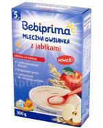 BEBIPRIMA Kaszka mleczna owsianka z jabłkami po 5 m-cu - 300 g - Apteka internetowa Melissa