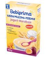 BEBIPRIMA Kaszka mleczno-pszenna jogurt-marakuja po 5 m-cu - 300 g - Apteka internetowa Melissa