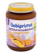 BEBIPRIMA Kaszka na dobranoc z herbatnikami po 5 m-cu - 190 g Data ważności:2018.12.31 - Apteka internetowa Melissa