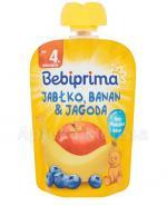 BEBIPRIMA MUS Jabłko, banan, jagoda po 4 m-cu - 90 g - Apteka internetowa Melissa