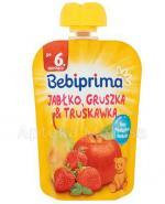 BEBIPRIMA MUS Jabłko, gruszka, truskawka po 6 m-cu - 90 g - Apteka internetowa Melissa