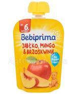 BEBIPRIMA MUS Jabłko, mango, brzoskwinia po 6 m-cu - 90 g - Apteka internetowa Melissa
