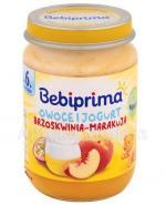 BEBIPRIMA Owoce i jogurt brzoskwinia-marakuja po 6 m-cu - 190 g - Apteka internetowa Melissa
