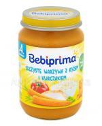 BEBIPRIMA Soczyste warzywa z ryżem i kurczakiem po 4 m-cu - 190 g - Apteka internetowa Melissa