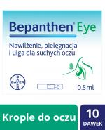 BEPANTHEN EYE Krople do oczu - 10 x 0,5 ml