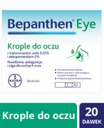 BEPANTHEN EYE Krople do oczu - 20 x 0,5 ml - Apteka internetowa Melissa