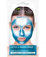 BIELENDA BLUE DETOX Metaliczna maska do cery suchej i wrażliwej - 8 g - Apteka internetowa Melissa