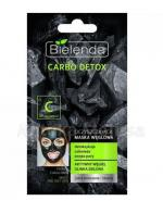 BIELENDA CARBO DETOX Oczyszczająca maska węglowa do cery mieszanej i tłustej - 8 g - Apteka internetowa Melissa