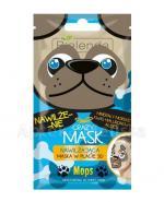 BIELENDA CRAZY MASK Nawilżająca maska w płacie MOPS - 1 szt. - Apteka internetowa Melissa