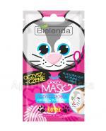 BIELENDA CRAZY MASK Oczyszczająca maska w płacie KOTEK - 1 szt. - Apteka internetowa Melissa