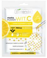 Bielenda Maska Power Wit.C + serum rozświetlające - 22 ml - cena, opinie, wskazania