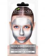 BIELENDA SILVER DETOX Metaliczna maska do cery mieszanej i tłustej - 8 g - Apteka internetowa Melissa
