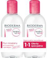 BIODERMA SENSIBIO AR H2O DUOPACK Płyn micelarny - 2 x 250 ml