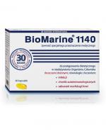 BIOMARINE 1140 - 60 kaps. - układ odpornościowy i limfatyczny - cena, ulotka, dawkowanie