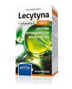 Lecytyna + Witamina E Forte BIOTTER - 40 kaps. - Apteka internetowa Melissa
