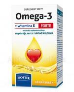 BIOTTER Omega-3 z witaminą E Forte - 60 kaps. - Apteka internetowa Melissa