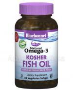 BLUEBONNET NUTRITION Natural Omega-3 Kosher Fish Oil, naturalne źródło EPA,DHA,DPA, - 60 kaps. Data ważności: 2019.01.01 - Apteka internetowa Melissa