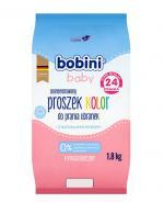 BOBINI BABY Hipoalergiczny proszek kolor do prania pieluszek i ubranek dziecięcych i niemowlęcych - 1,8 kg - Apteka internetowa Melissa