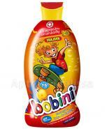 BOBINI FRAJDEK O zapachu oranżady szampon i płyn do kąpieli 2w1 z olejkiem ze słodkich migdałów - 400 ml - Apteka internetowa Melissa