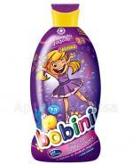 BOBINI JAGÓDKA O zapachu jagody szampon i płyn do kąpieli 2w1 z olejkiem ze słodkich migdałów - 400 ml - Apteka internetowa Melissa