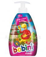 BOBINI MALINA Mydło w płynie dla dzieci z mleczkiem owsianym - 400 ml - Apteka internetowa Melissa