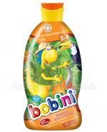 BOBINI MANDARYNKOWE FIGLE Szampon i płyn do kąpieli 2w1 z olejkiem ze słodkich migdałów - 400 ml - Apteka internetowa Melissa