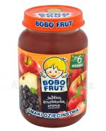 BOBO FRUT Deserek jabłko, truskawka, aronia po 6 m-cu - 185 g - Apteka internetowa Melissa