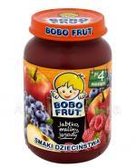 BOBO FRUT Deserek jabłko, maliny, jagody po 4 m-cu - 185 g - Apteka internetowa Melissa