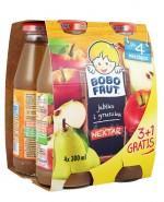 BOBO FRUT Nektar jabłko i gruszka po 4 miesiącu - 4 x 300 ml PROMOCJA 4 w cenie 3 - Apteka internetowa Melissa