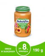 BOBOVITA Brzoskwinie jabłka i mango po 8 miesiącu - 190 g - Apteka internetowa Melissa