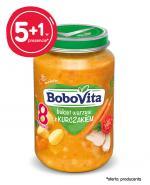BOBOVITA Bukiet warzyw z kurczakiem po 8 m-cu - 6 x 190 g - cena, opinie, właściwości