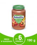 BOBOVITA Jabłka, banany i maliny z kaszką kukurydzianą - 190 g - Apteka internetowa Melissa