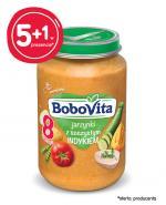BOBOVITA Jarzynki z soczystym indykiem po 8 m-cu - 6 x 190 g - cena, opinie