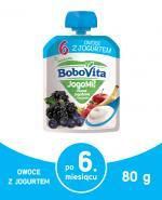 BOBOVITA JOGOMI! Deserek owocowo-mleczny, owoce jagodowe z bananem - 80 g