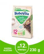 BOBOVITA JUNIOR Kaszka mleczno-ryżowa kakaowa po 12 miesiącu - 230 g - Apteka internetowa Melissa