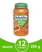BOBOVITA JUNIOR Makaron z tuńczykiem i warzywami - 250 g - Apteka internetowa Melissa