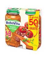 BOBOVITA JUNIOR Spaghetti po bolońsku 1-3 lata - 2 x 250 g - Apteka internetowa Melissa