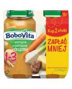 BOBOVITA Junior Warzywa w potrawce z cielęcinką 1-3 lata - 2 x 250 g - Apteka internetowa Melissa