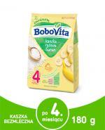 BOBOVITA Kaszka ryżowa o smaku bananowym - 180 g - Apteka internetowa Melissa